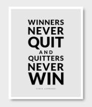 Quiting